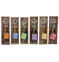 Sure to make a lovely gift idea to any fragrance fanatic, an assortment of scented incense gift sets with accessories