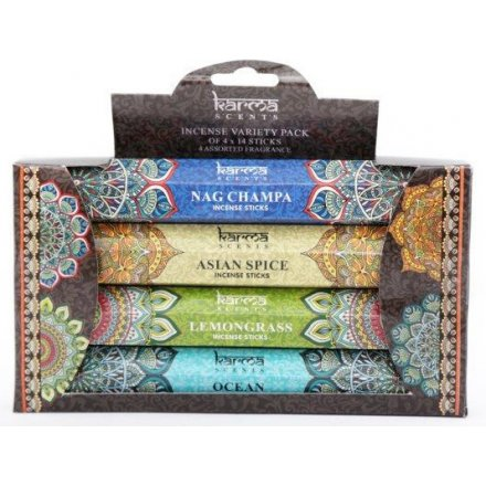 Karma Scents Incense Stick Pack, 17.5cm