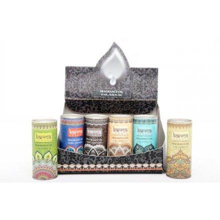 Assorted Karma Incense Oils