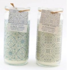 his assortment of sweetly scented candles also comes in pretty packaging