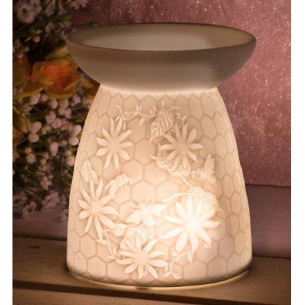 Ceramic Honeycomb Wax/Oil Burner