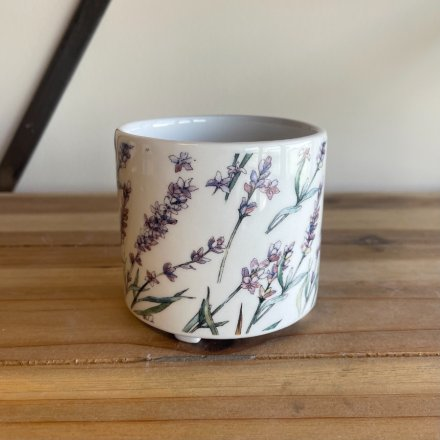 A charmingly decorated ceramic planter from the bright and cheery Pick of The Bunch range