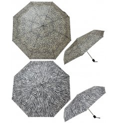 With the trendy designs and easy fold away form, these umbrellas are a must have for the rainy season