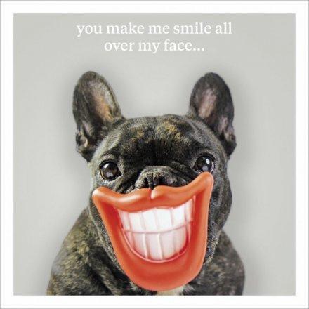 Make Me Smile Greeting Card