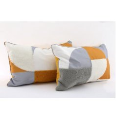 hese decorative cushions will be sure to add a trendy touch to any home space