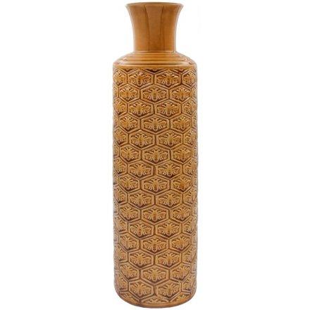 Honeycomb Bee Vase, 51cm