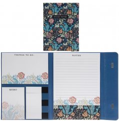 Packed full of assorted sticky notes for any memo, reminder or shopping lis. Perfect for any person who likes to be org