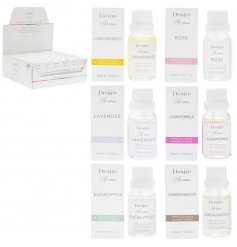 Part of the beautiful Desire Aroma Range, an assortment of packaged Essential oils in our favourite fragrances perfect f