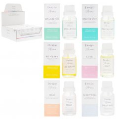 an assortment of packaged Essential oils in our favourite fragrances perfect for mood boosting