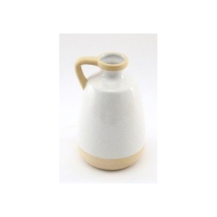 Simple Living Two Toned Vase, 20cm
