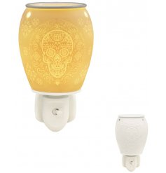 A gorgeously detailed Aroma Plug In Warmer, perfectly complete with a warm white glow