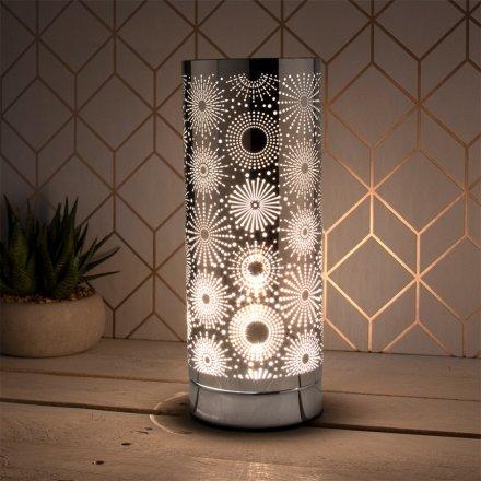 Desire Aroma Silver Lamp, Sparkle