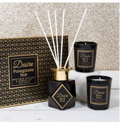 A Luxury themed Scented Set, sure to make a wonderful gift idea to any recipient