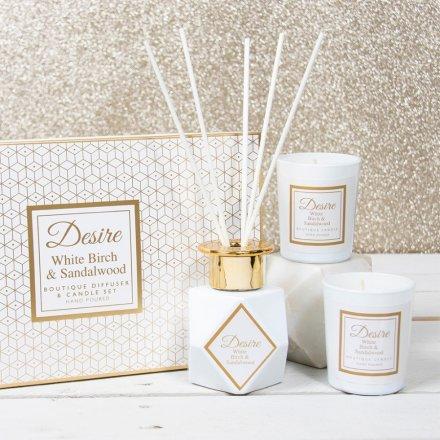 White Birch Luxury Desire Gift Set