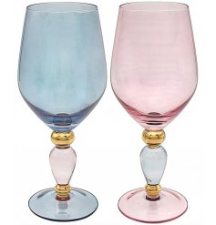 An assorted set of chic and stylish Wine Glasses
