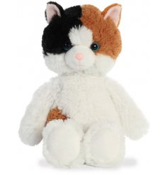 a super soft, huggable and snuggable soft toy in a cute cat form