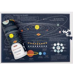 Learn about Outer Space with this cool 300 piece puzzle!