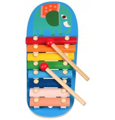 A fun and colourful Xylophone from the Wild Wonders Range