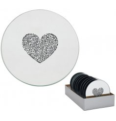 this mirrored candle plate is a must have for any home with a Luxury feel