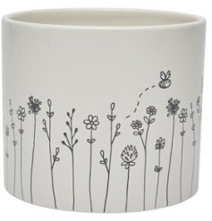 this white ceramic decorative planter perfect accessories to bring to any home