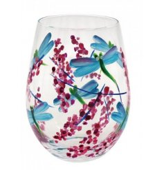 Part of a gorgeous new range, these stemless glasses are sure to bring a touch of Spring to your surroundings