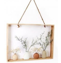A beautiful accent to place in any home space needing a boho finish