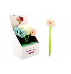 Perfect for adding a flowery feel to your writing and stationary sets, an array of writing pens with floral toppers
