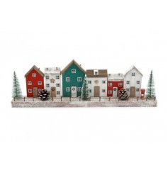 this display is sure to bring a charming touch to your home at Christmas