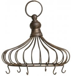 A simplistic hanging hook unit, perfect for showing dazzling baubles and hanging accessories