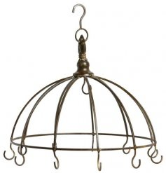 Show off all your beautiful baubles and hanging decorations with this vintage inspired decorative hook unit