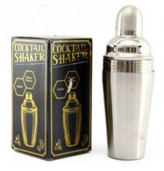 Silver Cocktail Recipe Shaker 500ml