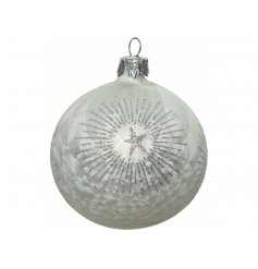 A gorgeous accessory to add to your tree at Christmas while bringing a Frosty feel
