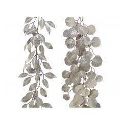 Sure to bring a frosted feel to any Tree Display or Homemade garland at Christmas Time