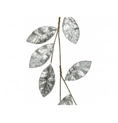 A luxe inspired leafy garland made with assorted textures, fabrics and colourings
