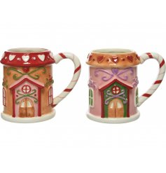 Perfect for making a delicious hot chocolate taste that little bit better! A mix of Gingerbread inspired mugs with all t