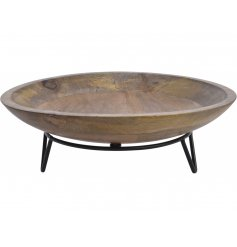 A simple yet contemporary themed bowl that can be brought to any home space and use decoratively or for food use
