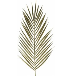 A simple golden toned fern stem, sure to bring a Luxe touch to any space its put in