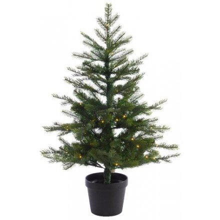 LED Potted Tree, 90cm