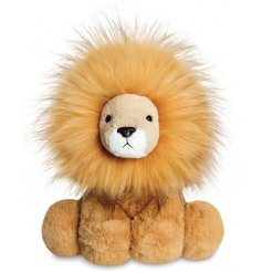 A large sized plush Lion soft toy called Zahara, complete with a crazy mane and a sweet look