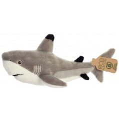 A cool and quirky Black Tip Shark Soft Toy, made from the must huggable stuffing and fluff!