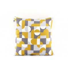 Abstract design cushion 45 x 45