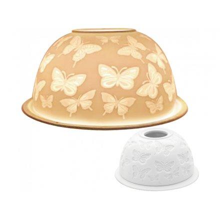 Butterflies Tlight Dome, 12cm