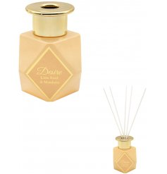 Sure to provide a delightful scent within any home space, this Desire Boutique Reed Diffuser features a sleek clean lo