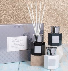 Sure to bring a luxe and trending touch to any home as well as a delightful fragrance to fill the air