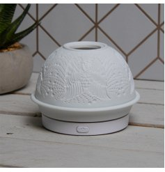 Part of a beautiful new range of home accessories, a humidifier that features a dome top with an embossed pattern