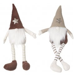 Charming characters to bring to any home with a Country setting at Christmas, a mix of nordic gonks with fawn tones