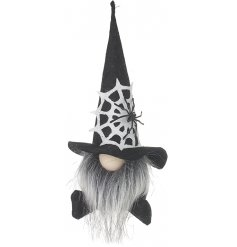 Sure to bring a Spook-tacular touch to your home at Halloween!! A sitting gonk with gothic features!