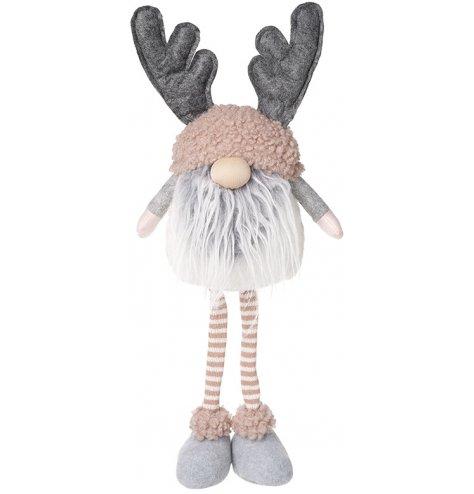 Gonk - Grey Beard & Antlers - Small
