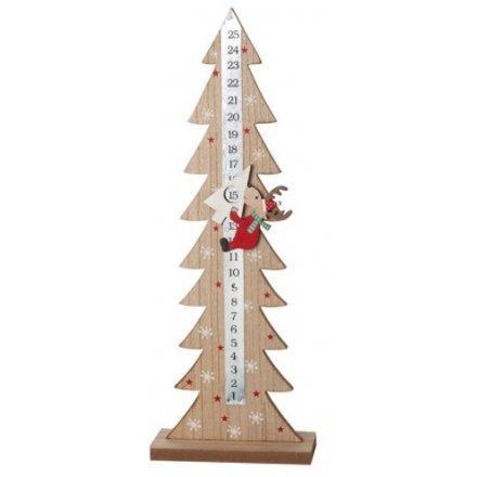 Advent Calendar with Deer - Tree
