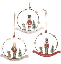 Perfect for adding a Traditional touch to any home or tree at Christmas Time!